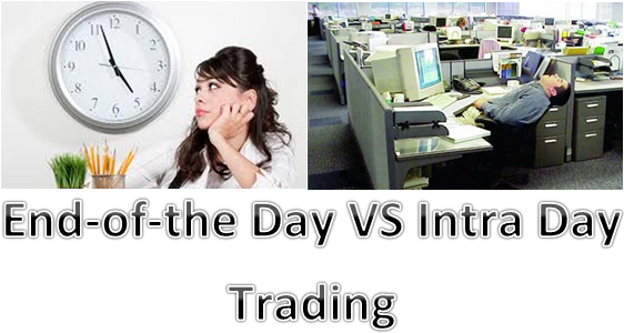 End of day trading strategies