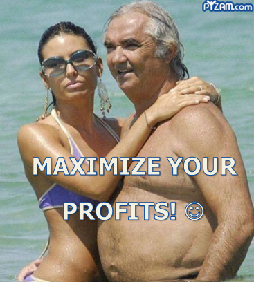 maximize profits with weak currency